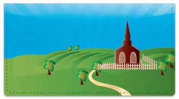 Church Checkbook Cover