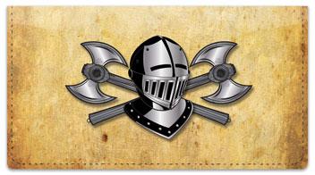 Medieval Checkbook Cover