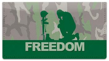 Army Checkbook Cover