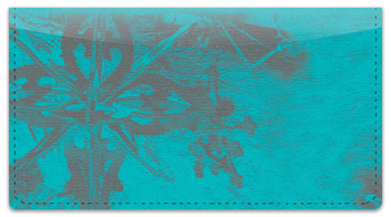 Snowflaked Checkbook Cover