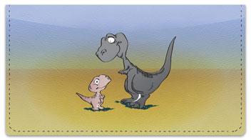 Dinosaur Checkbook Cover