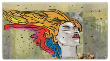 Graffiti Art Checkbook Cover