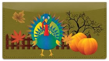 Thanksgiving Checkbook Cover