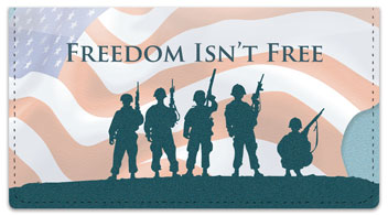 Price of Freedom Checkbook Cover