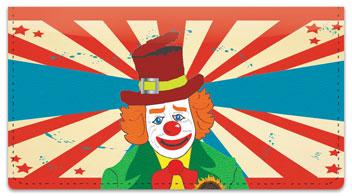 Circus Act Checkbook Cover