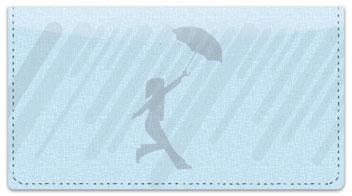 Spring Shower Checkbook Cover