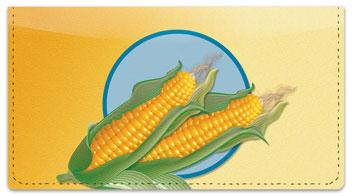 Corn Checkbook Cover