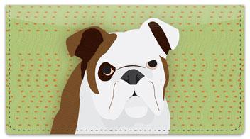 Doggone Cute Checkbook Cover
