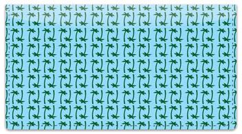 Hawaiian Shirt Checkbook Cover