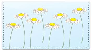 Daisy Design Checkbook Cover