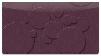 3D Shape Checkbook Cover
