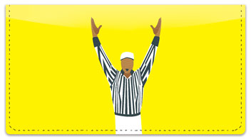 Referee Checkbook Cover