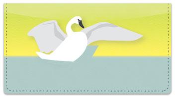 Mute Swan Checkbook Cover