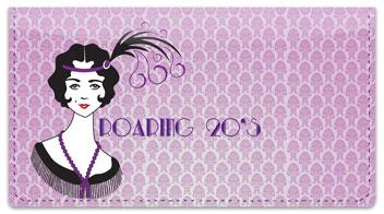 Roaring Twenties Checkbook Cover