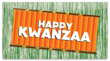 Kwanzaa Checkbook Cover