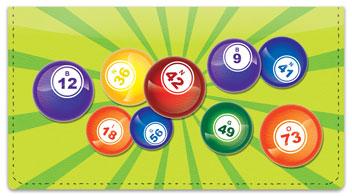 Bingo Checkbook Cover