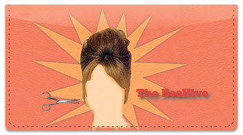 Cool Hairstyle Checkbook Cover
