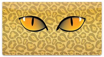 Eye See You Checkbook Cover