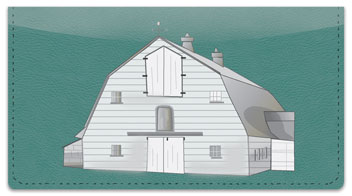 Barn Style Checkbook Cover