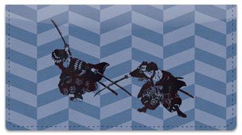 Ninja & Samurai Checkbook Cover
