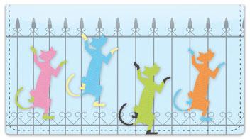 Siamese Cat Checkbook Cover