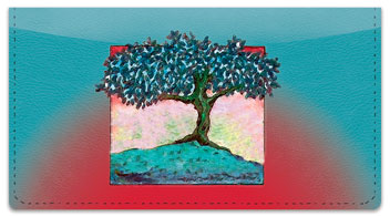 Solitary Tree Checkbook Cover