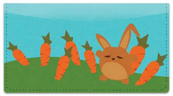 Funny Bunny Checkbook Cover