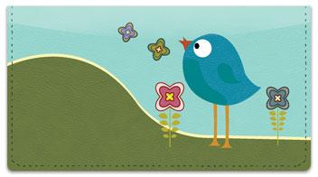 Baby Bluebird Checkbook Cover