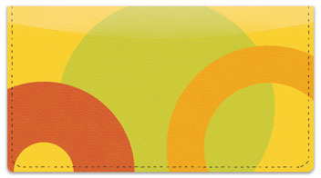 Circle Craze Checkbook Cover