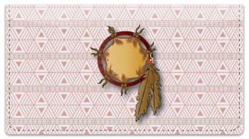 Dream Catcher Checkbook Cover