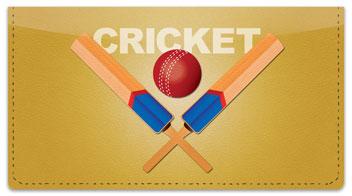 Cricket Checkbook Cover