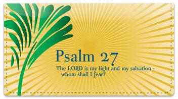 Psalms Checkbook Cover