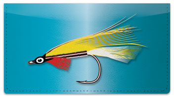 Fly Fishing Checkbook Cover