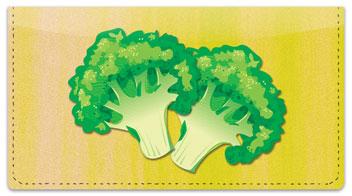 Green Veggie Checkbook Cover