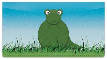Cute Dino Checkbook Cover