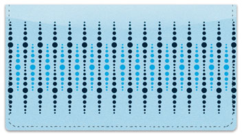 Dotted Line Checkbook Cover