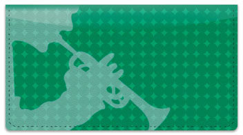 Trumpet Checkbook Cover