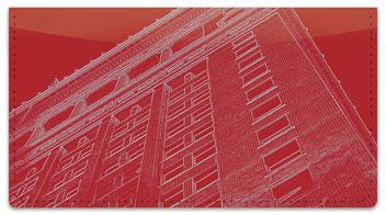 Artistic Architecture Checkbook Cover