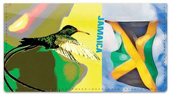 Jamaica Checkbook Cover