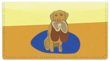 Labrador Checkbook Cover