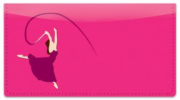 Ribbon Dancing Checkbook Cover