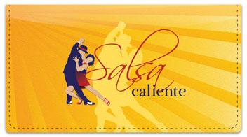Salsa Dancing Checkbook Cover