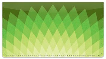 Diamond Leaf Checkbook Cover
