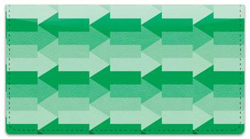 Green Arrow Checkbook Cover