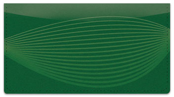 Blimp Lines Checkbook Cover