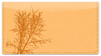 Winter Branch Checkbook Cover
