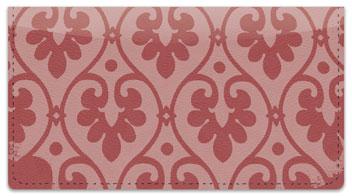 Ornate Heart Checkbook Cover
