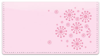 Circle Burst Checkbook Cover