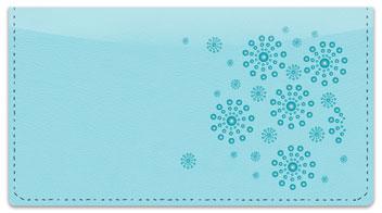 Blue Burst Checkbook Cover
