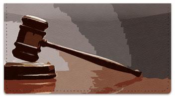 Supreme Court Checkbook Cover